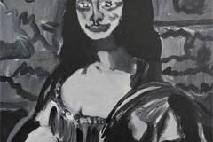 8. Marcel Pissoke nach Leonardo da Vinci: Mona Lisa (1503 - 1506)