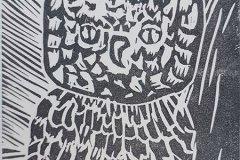 14. Thomas Bolte, Linolschnitt