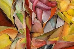 """10. """"Eitelkeit"""", Öl auf Leinwand, 70 x 50 cm, 2013"""