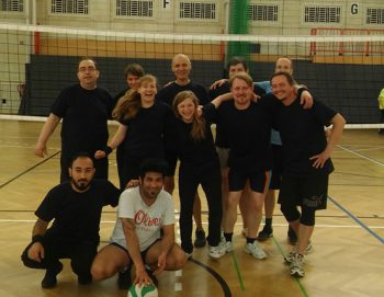 Das Volleyball-Team