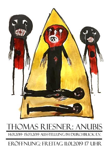 Thomas Riesner Ausstellungsplakat