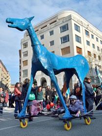 Das Pferd von Marco Cavalllo